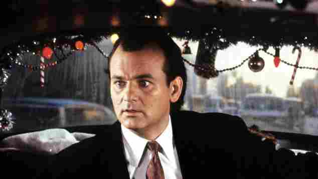 Bill Murray in 'Scrooged'
