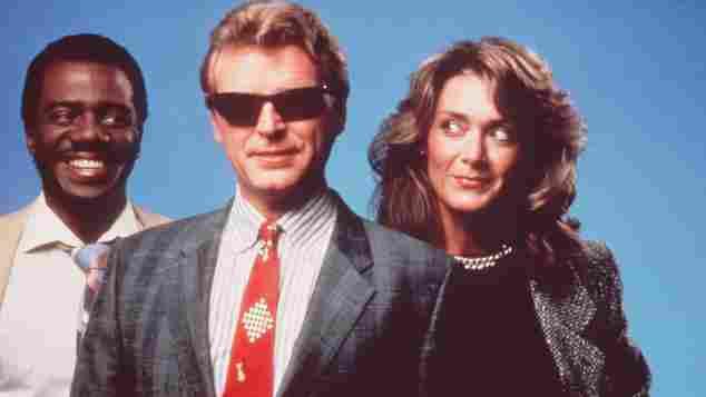 Harrison Page, Anne-Marie Martin and David Rasche