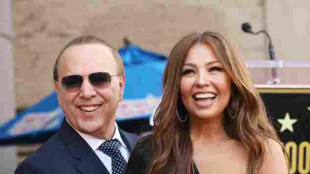 Las mejores imágenes de Thalía y Tommy Mottola