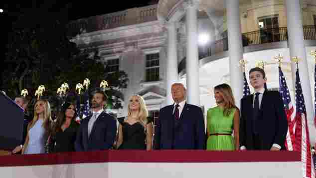 Trump Family Quiz: Donald Trump and his family.