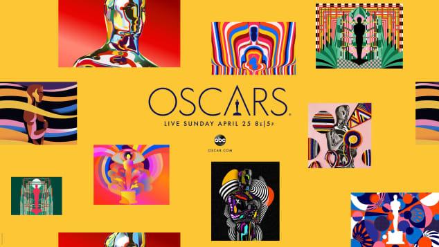 2021 Oscars poster