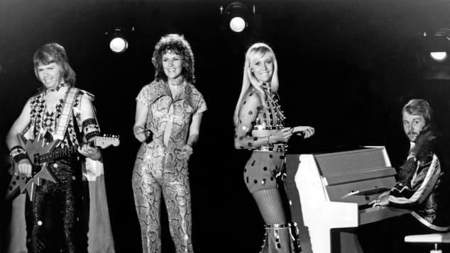 Swedish-pop group ABBA