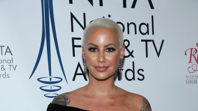 Amber Rose attends the National Film and Television Awards Ceremony.