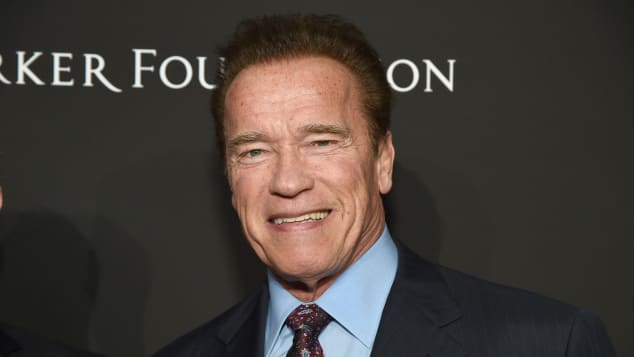 La adorable foto de Arnold Schwarzenegger en su cumpleaños