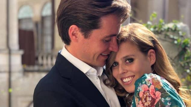 La princesa Beatriz y Edoardo rompen una tradición real por anillo de bodas en una manera muy romántica