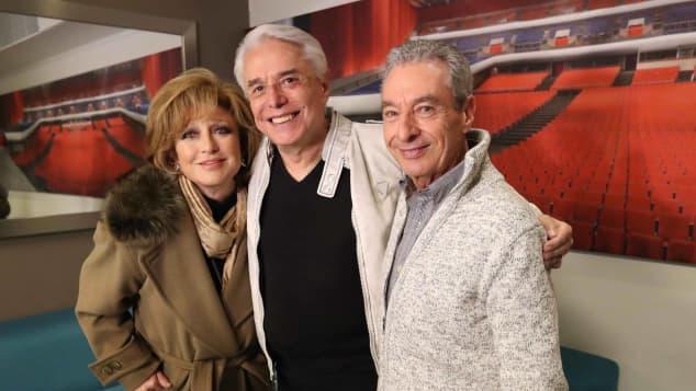 César Costa, Enrique Guzmán y Angélica María