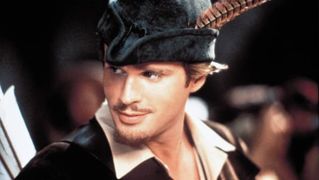 Cary Elwes in Robin Hood: Men In Tights in 1993.