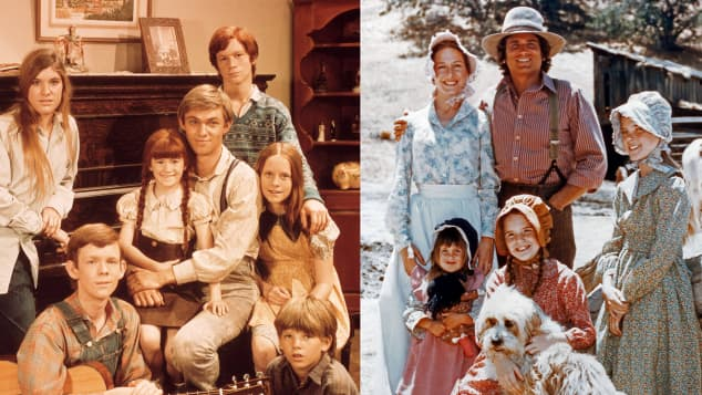 Casts of 'The Waltons' and 'Little House on the Prairie'