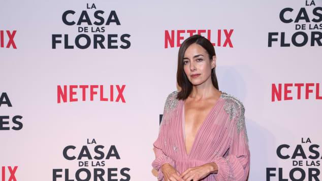 Cecilia Suárez recibe el Premio Platino por 'La casa de las Flores'