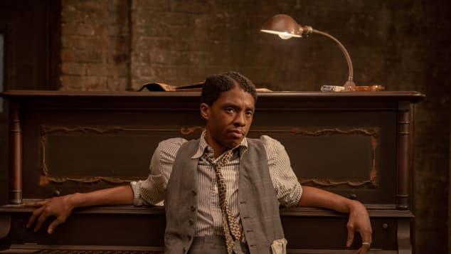 Facts On Chadwick Boseman final movie Ma Rainey's Black Bottom Oscar nomination Best Actor 2021 Academy Awards posthumous win film ALLVIPP video Celebrity Corner With Sarah