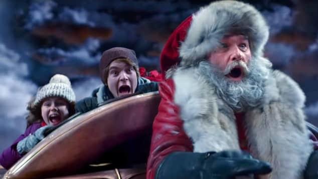 The Christmas Chronicles Sleigh Ride