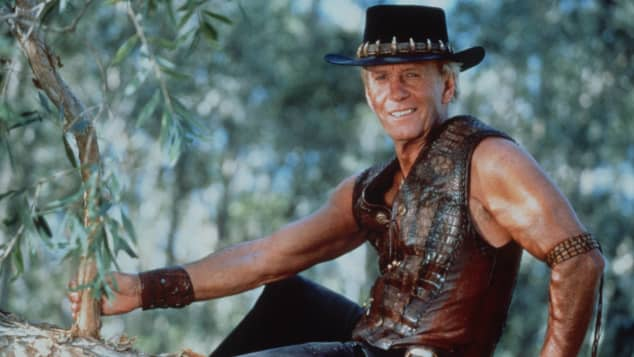 Paul Hogan in 'Crocodile Dundee'