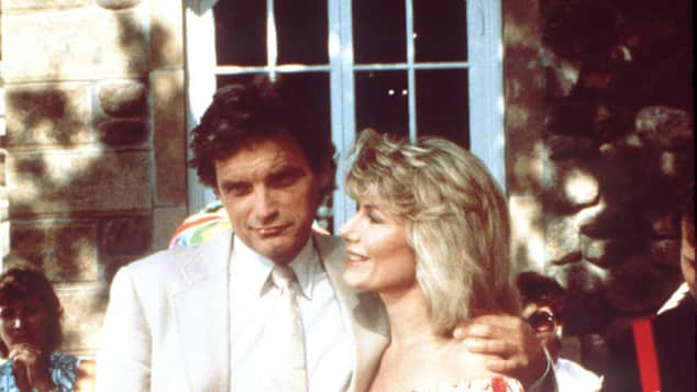 David Selby and Susan Sullivan in 'Falcon Crest'