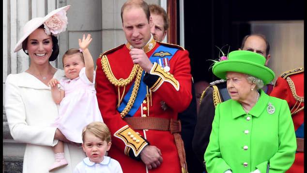 La realeza británica