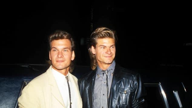 Patrick and Don Swayze
