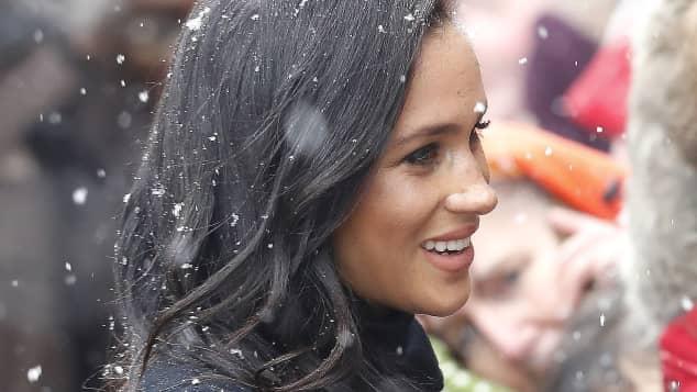 Duchess Meghan in February 2019