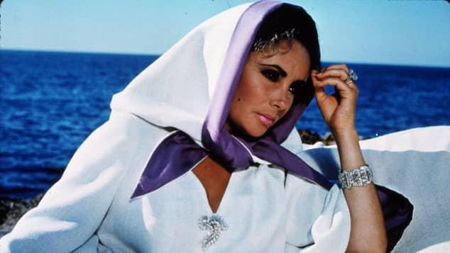 "Elizabeth Taylor in the 1968 film, ""Boom!"""