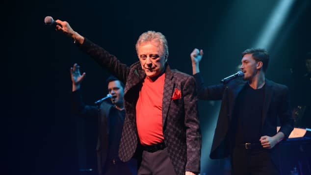 Frankie Valli In 'Grease' Career