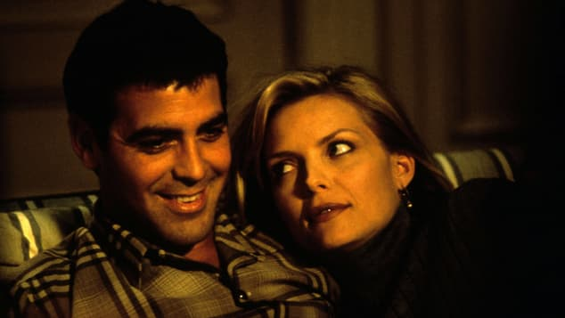 George Clooney and Michelle Pfeiffer