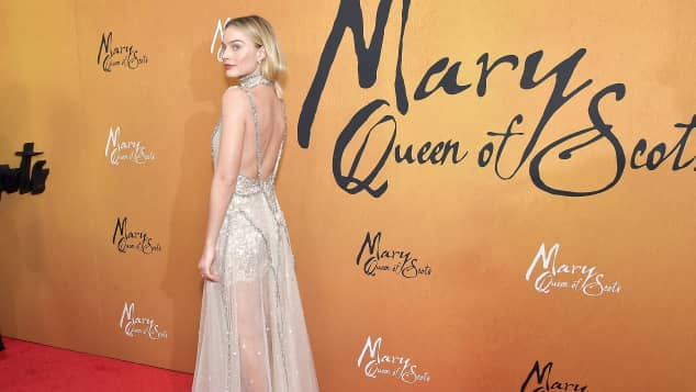 Actress Margot Robbie