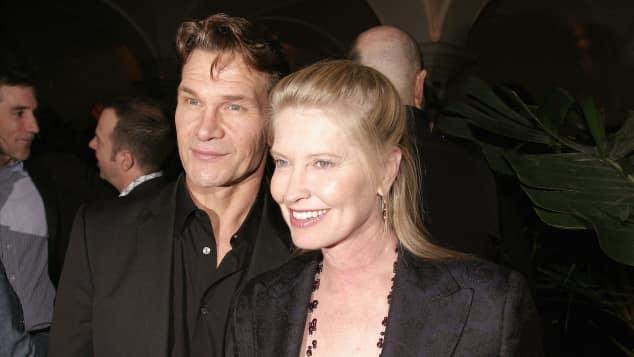 Patrick Swayze and Lisa Niemi in 2004