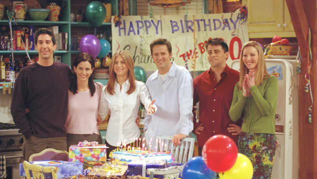 """The cast of """"Friends""""."""
