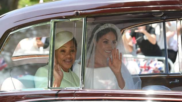 Doria Ragland and Duchess Meghan