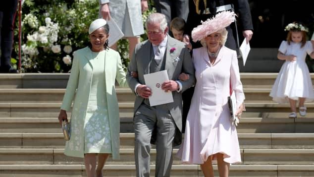 Doria Ragland, The Duchess of Cornwall and Prince Charles