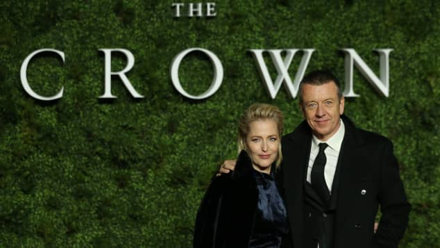 Gillian Anderson Peter Morgan The Crown relationship today why split reunion 2021 update news