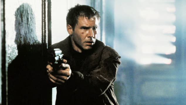 "Harrison Ford stars in the 1982 film, ""Blade Runner"""