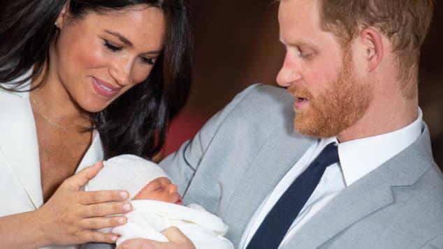 Meghan Markle, el príncipe Harry y Archie