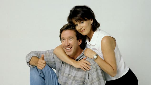 "Tim Allen and Patricia Richardson in ""Home Improvement"""