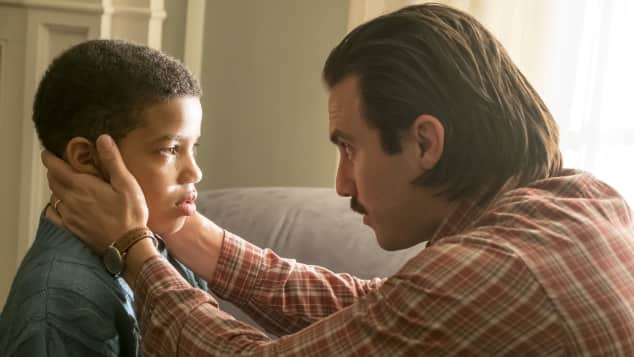 Jack and Randall Pearson in 'This Is Us'