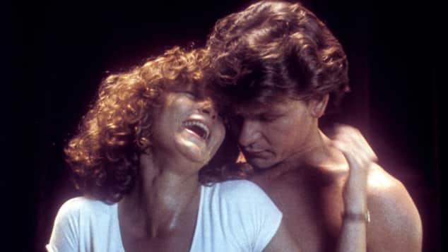Jennifer Grey y Patrick Swayze en una escena de 'Dirty Dancing'
