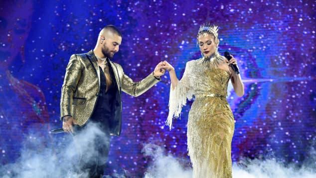 Jennifer Lopez y Maluma preparan candente canción en colaboración