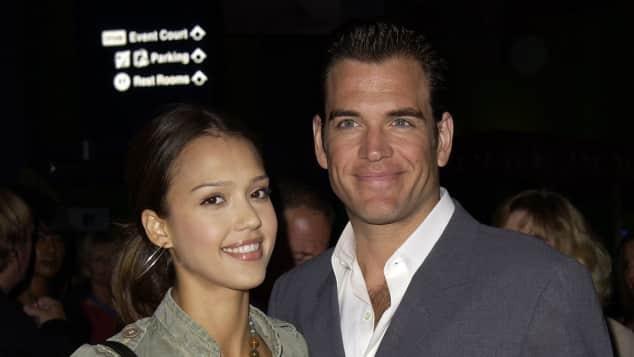 Jessica Alba Michael Weatherly Couple