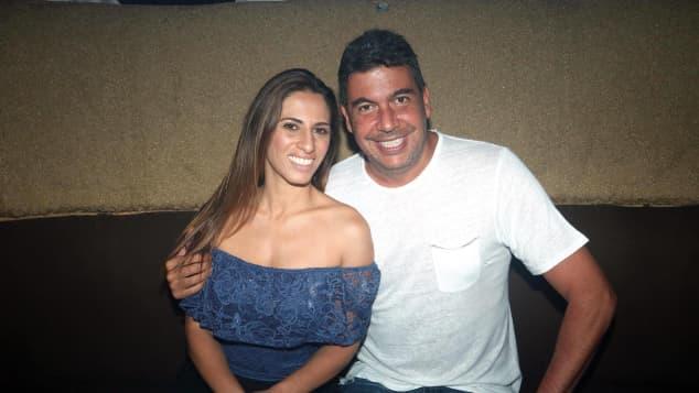 Johanna Slim Domit y Arturo Elías Ayub