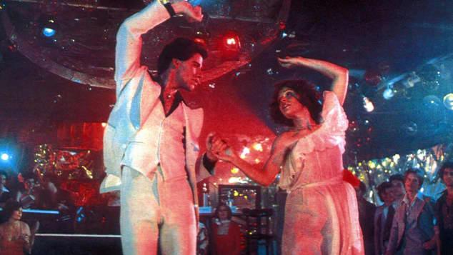 Saturday Night Fever John Travolta and Karen Lynn Gorney
