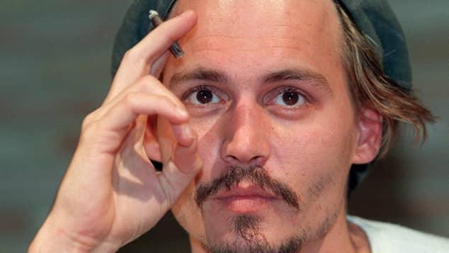 Johnny Depp quería ser músico cuando era joven.