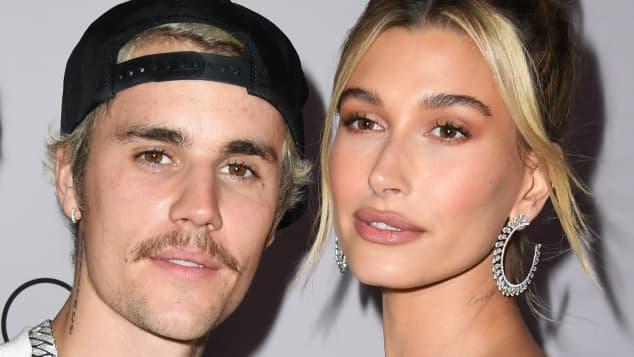 Justin Bieber and Hailey Bieber attend YouTube Originals' 'Justin Bieber: Seasons' premiere