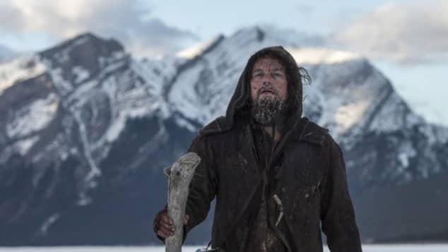 "Leonardo DiCaprio en ""The Revenant"""