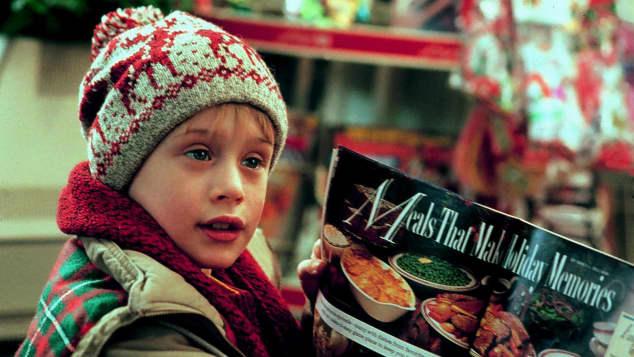 """Macauley Culkin in the film, """"Home Alone"""""""