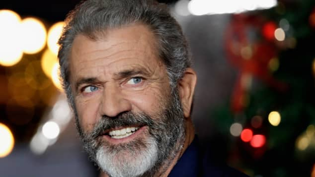 Mel Gibson arrives at the UK Premiere of 'Daddy's Home 2' at Vue West End on November 16, 2017 in London, England