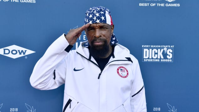 Mr. T At Team USA Awards at the Duke Ellington School Washington DC