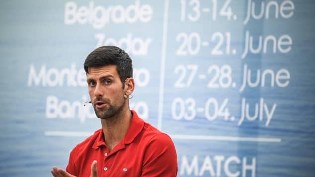 Novak Djokovic da positivo a Covid-19 tras organizar fiesta
