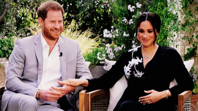 Prince Harry and Duchess Meghan