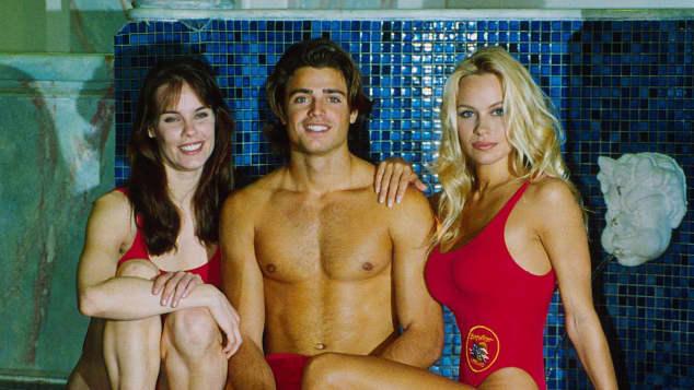 Pamela Anderson, Daniel Charvet and Alexandra Paul from 'Baywatch'