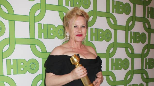Patricia Arquette at the 76th Golden Globes