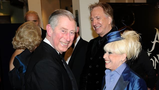 Prince Charles and Barbara Windsor