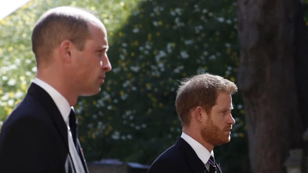 Prince Harry and William: THIS Is How Things Went At The Funeral Prince Philip reunion photos pictures 2021